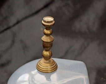 Miniature Brass Candle Stick