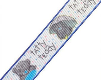 Ribbon fantasy print Teddy bear sold by the yard