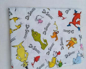 Dr seuss fabric 1m