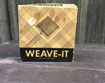Weave It Donar Products Corp Medford Massachusetts metal and wood 4.5 inch