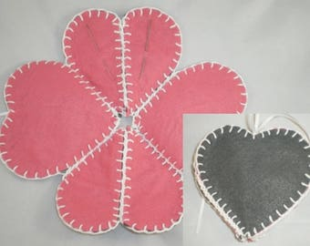 Pochette007 - Spades case sewing needles