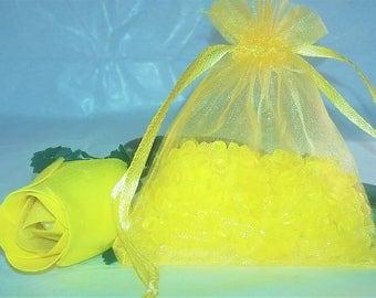 Aroma Beads Sachets, Aroma beads, Jamaica Me Crazy set of 2 highly fragranced organza bag sachets, scented sachet.
