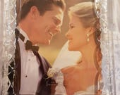 Crystal Photo Frame , Photo Frame made by Lenox, New in box , Wedding , Anniversary , Graduations any special occasion 8x10