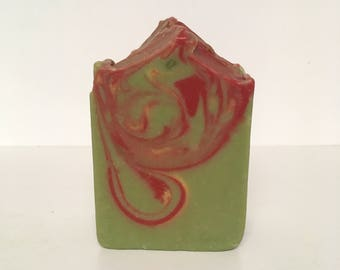 Apple Soap,Apple Sage Soap,Fruity Soap,Soap,Cold Process Soap,Shea Butter Soap,Cocoa Butter Soap,Summer Soap