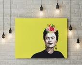 Printable Poster,Frida khalo,Digital Download, Geometric Prints Wall, Art Prints Modern Prints , home decor,printable Art