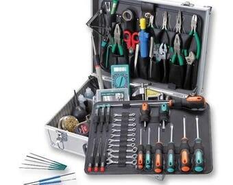 Electronics Tool Kit with Soldering Iron UK Plug PK-15307CM-40 PROSKITINDUSTRIES