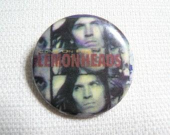 Vintage 90s The Lemonheads - Come On Feel The Lemonheads Album (1993) Pin / Button / Badge