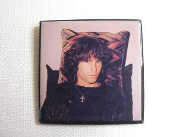 BIG Vintage Early 80s - Jim Morrison - The Doors - Pin / Button / Badge