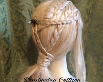 Daenerys Targaryen Season 7 wig ~ Game of Thrones Cosplay ~ Khaleesi lace front wig