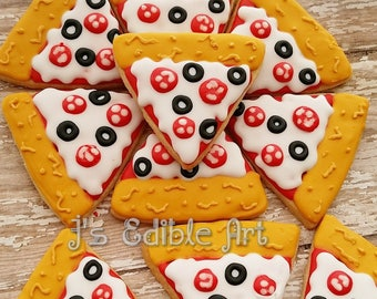 Pizza Cookies (Dozen)