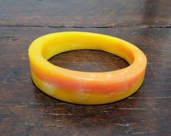 Bracelet -INTO THE WILD- orange