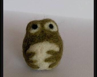 Frog, miniature, Needle Felted Gift