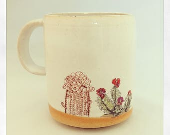 Boho Double Cactus-Limited Edition Color Mug