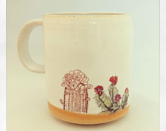Featured listing image: Boho Double Cactus-Limited Edition Color Mug
