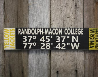 randolph macon etsy. Black Bedroom Furniture Sets. Home Design Ideas