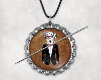 Needle Minders, Needle Nanny, Dogs, Dog Dressed, Needleminders, Needlenannies, Needle Holders, Needle Keepers, Set 3