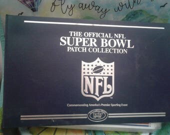 Book Of NFL Super Bowl Patch Collection