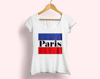 Paris tee, Paris T-shirt, French tee, Fashion T-shirt, Tshirt for women, Paris lover tee, Graphic shirt, French shirt, Fashion tee