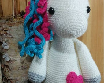 Handmade crochet Unicorns