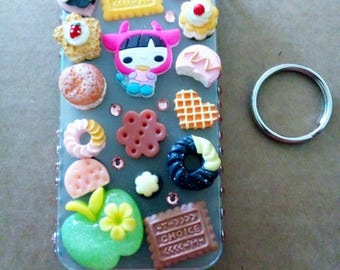 Sweet Treat Decoden Bling Case For iPhone 5S/iPhone SE