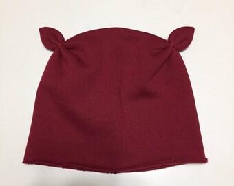 Cap with fleece Ears