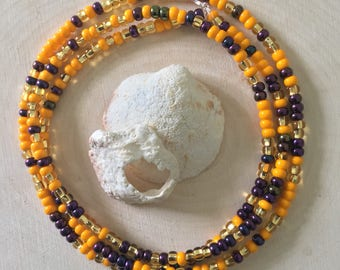 Orange Passionfruit Waist Beads