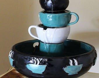 Coffee Mug Fountain