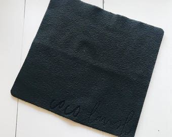 Embossed Micro fleece face cloth
