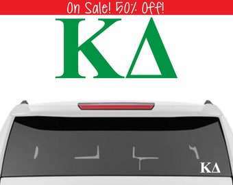 50% OFF!  Kappa Delta Decal | KD Decal | Sorority Car Decals, Sorority Vinyl Decal, Sorority Laptop Decal, Sorority Decal