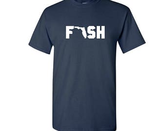 Fish Florida Shirt, Fishing Shirt, Florida Shirt, Outdoorsman Shirt, Gifts for Fisherman, Fishing gifts, Florida gifts, gifts for him