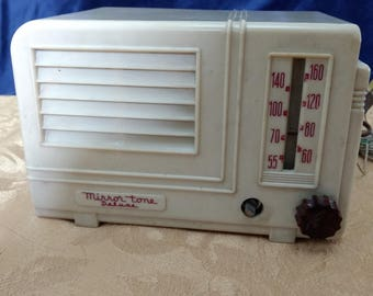 Mirror Tone Deluxe Tube Radio