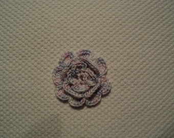 SET of 10 flowers ROSES CHINEES to CROCHET for EMBELISSEMENT ref: z37