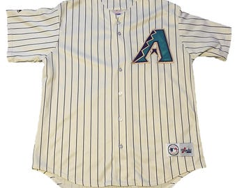 Vintage Arizona Diamondbacks 2001 World Series Jersey
