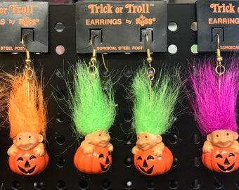 Vintage Russ Halloween Earrings
