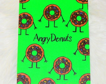 Chocolate Angry Donut
