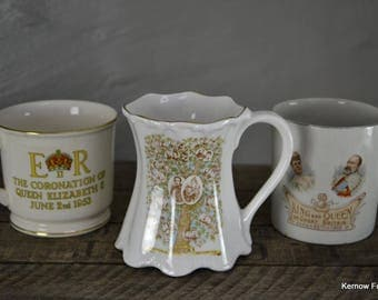 Collection Of Commemorative Cups Mugs (3)