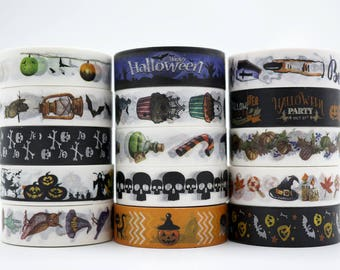 Halloween Washi Tape/Deco Masking Tape/Planner Sticker/ Deco tape TZ2247