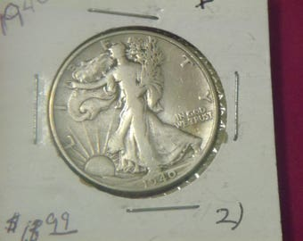 1940 P Walking Liberty Half Silver Dollar (GV56)