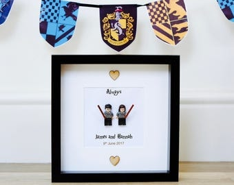 Harry Potter Wedding Gift - Lego Frame