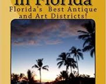 Antiquing in Florida Signed and inscribed guidebook by Linda Stamberger