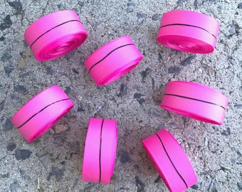 "7/8"" Hot Pink Solid Grosgrain Ribbon 5 YARDS"