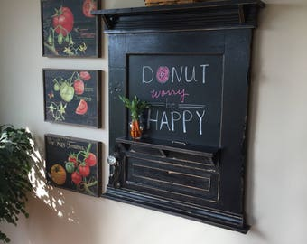 Old Door Chalkboard