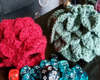 Dragon/Crocodile Egg Dice Bag ***Free Shipping***