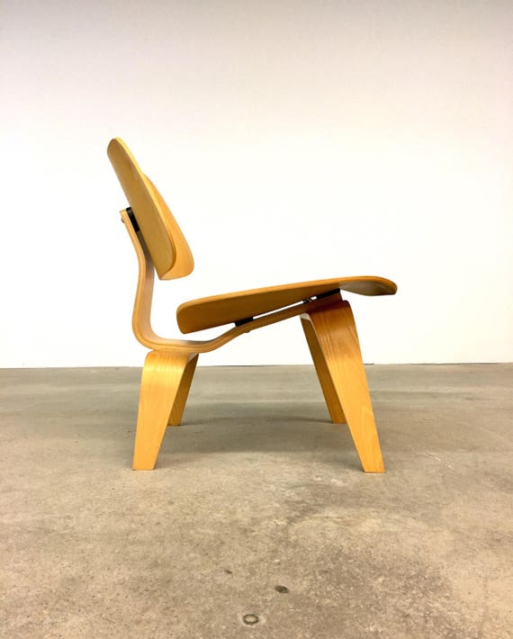 Herman Miller | Eames Ash LCW Lounge Chair Wood | Mid Century Modern