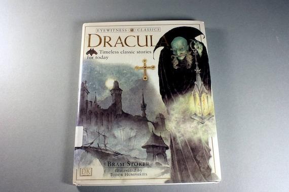 Hardcover Book, Dracula, Bram Stoker, DK Publishing, Illustrated, Literature, Horror, Fiction, Classic, Vampire