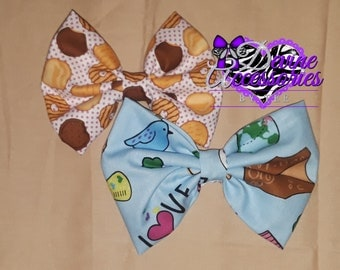 Girl scout hairbows