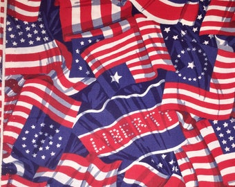 Stars and Stripes Fabric, Red White & Blue Fabric, Patriotic Fabric, Independence Day Fabric, 4th of July Fabric, Americana Fabric