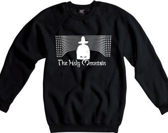 The Holy Mountain Sweatshirt - Psychedelic, Surreal, 70's Film