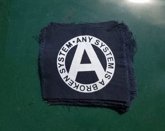 Any System Screened Punk Patch