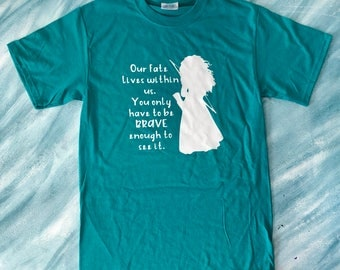 Brave shirt, Merida shirt, Our fate lives within us shirt, Brave tshirt, Merida Tshirt